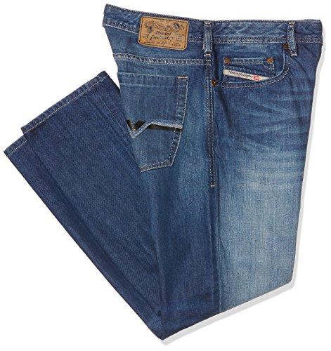 Diesel Herren Bootcut Jeans Blau (Medium Blue 008Xr)