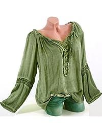 Amazon.es: zara ropa mujer - Blusas y camisas / Camisetas, tops y blusas: Ropa