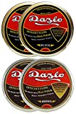 Dazlo Handmade Natural Wax Shoe Polish Black (2x40g) and Brown (2x40g)