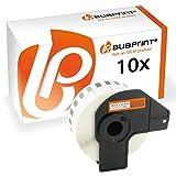 Bubprint 10 Etiketten kompatibel für Brother DK-22210 DK 22210 für P-Touch QL1050 QL1060N QL500BW QL550 QL560 QL570 QL580N QL700 QL710W QL720NW QL810W