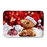 showudesigns Funny Design Weihnachten Weich Eingang Fußmatte Teppich für Wohnzimmer, Flanell, color 12, Größe S