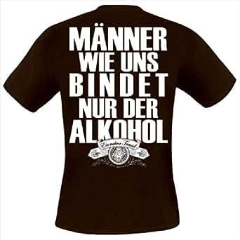 Krawallbrüder - Männer Wie Uns T-Shirt, braun, Grösse S