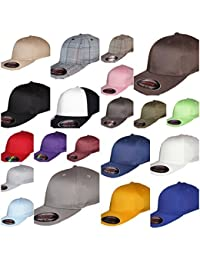 Yupoong Flexi Fit Baseball Caps, Mens & Ladies Flexfit Hats, Plain Fitted Hip Hop Designer