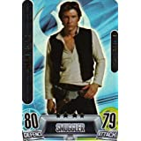 STAR WARS FORCE ATTAX MOVIES SERIES 2 FORCE MASTER CARD #227 HAN SOLO by Force Attax
