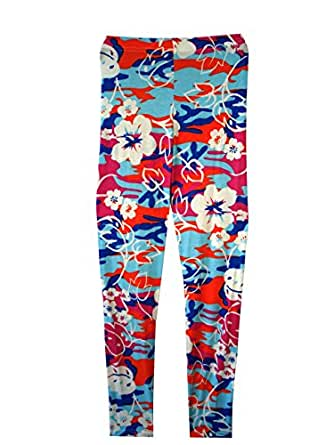 6db2ee96087788 Girls Floral Camouflage Leggings and Crop TOP T-Shirts Kids Age Size 7-13  Years: Amazon.co.uk: Clothing