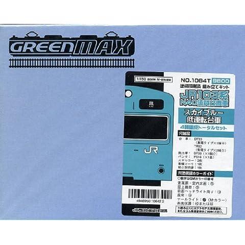 JR serie 103N40riformato auto, colore: blu cielo basso veicolo Cab (4-Car Set) (Model Train)