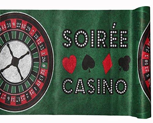 NEU Tischläufer Poker, 30 cm x5 m