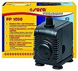 Sera 30595 Filter- und Förderpumpe FP 1000 regelbar für Süß- und Meerwasser (Qmax: 1000 l/h Hmax: 1,80 m Bei 16 Watt mit EU-Stecker und 15 mm Schlachstutzen Sowie 1,8m Netzkabel)