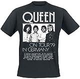 Queen Germany Tour 79 T-Shirt schwarz M