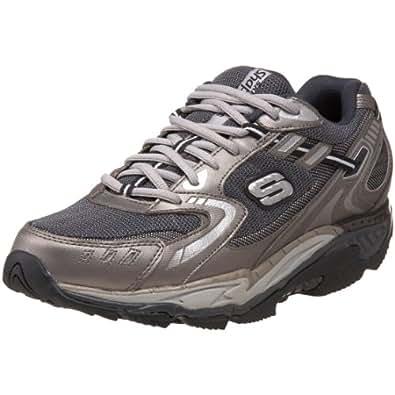 Skechers 52060 PEW ALMASTY, Herren Sneaker, Silber (PEW), EU 43