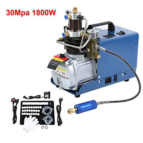 Yonntech 300BAR 30MPA 4500PSI Pompa ad aria compressa ad alta pressione Compressore d'aria elettrico, Gonfiatore PCP per Gonfiatore