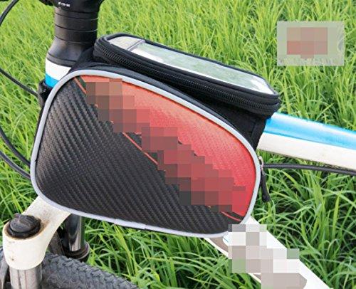 OGTOPOGTOPMountain Bike Reitausrüstung Satteltasche Handytasche Zubehör 1