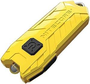 Nitecore Tube lemon - Schlüsselanhängerleuchte, 45 Lumen, über USB aufladbar