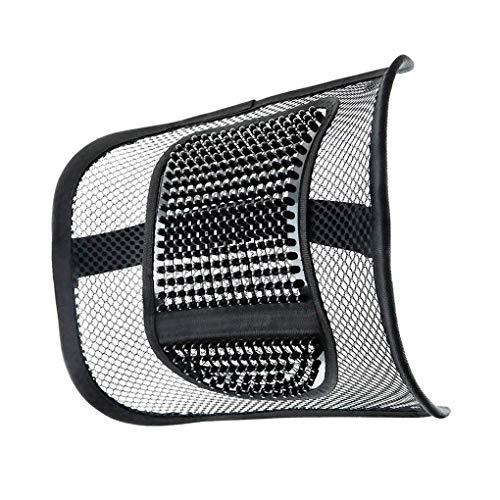 Acmede cuscino lombare supporto lombare, ergonomico cuscino pad supporto lombare con fascette regolabili per sedie sedile dell'auto e poltrona da ufficio e casa, riduce il dolore
