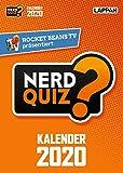 Rocket Beans TV - Nerd Quiz-Kalender 2020 mit Fragen rund um Games, Filme und Popkultur: DAS Geschenk für Gamer und andere Nerds - Rocket Beans Entertainment GmbH