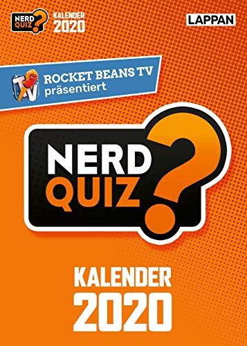 Rocket Beans TV - Nerd Quiz-Kalender 2020 mit Fragen rund um Games, Filme und Popkultur: DAS Geschenk für Gamer und andere Nerds