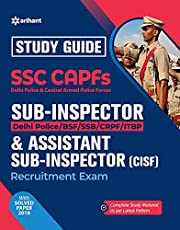 SSC CAPFs Sub Inspector and Assistant Sub Inspector 2019