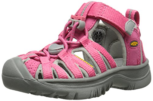 Keen Whisper, Scarpe da Arrampicata Unisex - Bambini, Rosa (Honeysuckle/Neutral Gray), 30 EU