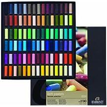 Rembrandt soft pastel half stick 90 color set (japan import)