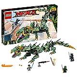 LEGO 70612 NINJAGO Dragon Playset, Green Ninja Mech Dragon Toy from THE LEGO® NINJAGO® MOVIE , Build and Play Ninja Toys for Kids