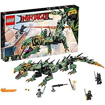 LEGO 70653 NINJAGO Firstbourne Playset, Dragon and Hunter