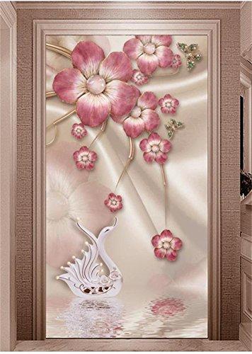 Yosot 3D-Tapeten Fototapete Benutzerdefinierte Wandbild Wohnzimmer Veranda Schmuck Plum Blossom Soft Outfit Malerei Wand Hintergrundbild Für 3D-Wand-350Cmx245Cm (Outfit Malerei)