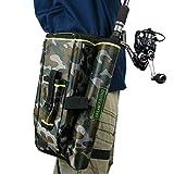 Fly Angel Tasche Cover Etui Fishing Tackle Taschen Aufbewahrungsbox Camouflage Camo Angeln Tools...