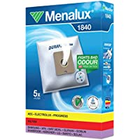 Menalux 1840 Pack of 5 Dustbags and 1 Motor Filter