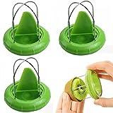 Kiwi Cutter Kern Twister Slicer Kitchen Peeler Tool von MAXGOODS, Grün