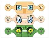Anime Virtual Eyes - VR Headset Sticker Kit (PS4) [Importación Inglesa]