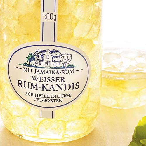 Weißer Rum-Kandis