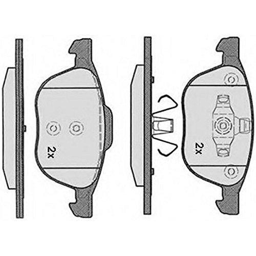 PE08200RB-5063 Kit pastiglie freno Anteriore Permafuse MAZDA 3 Tre volumi 1999>2009