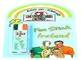 Fanschminke/Schminkstift Grün-Weiß-Orange - Irland, Elfenbeinküste - für Gesicht und Haut