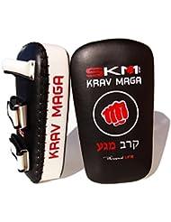 PAO Krav Maga SKM Sport eq012, blanco / negro, Singolo