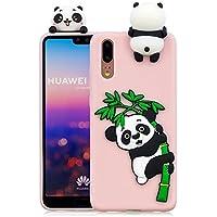 Everainy Huawei P20 Silikon Hülle Ultra Slim 3D Panda Muster Ultradünn Hüllen Handyhülle Gummi Case Huawei P20... preisvergleich bei billige-tabletten.eu