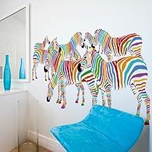 92x50 cm adhesivo mural stickers vinilo de pared 92x50 040207-101 Animales