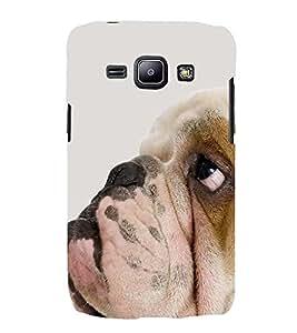 PrintVisa Awesome Dog 3D Hard Polycarbonate Designer Back Case Cover for Samsung Galaxy J2 J200G (2015):: Samsung Galaxy J2 Duos :: Samsung Galaxy J2 J200F J200Y J200H J200GU