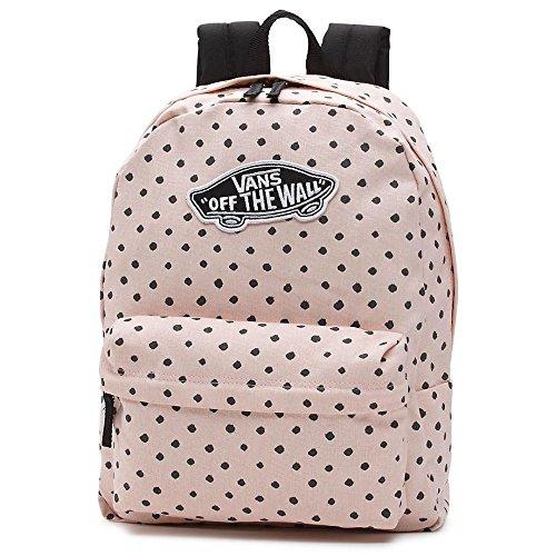 Imagen de vans realm backpack  tipo casual, 42 cm, 22 liters, rosa sepia shibori dot
