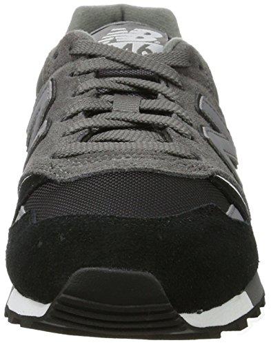 New Balance Herren U446 Sneaker, Grau Grau (Grey/Black)