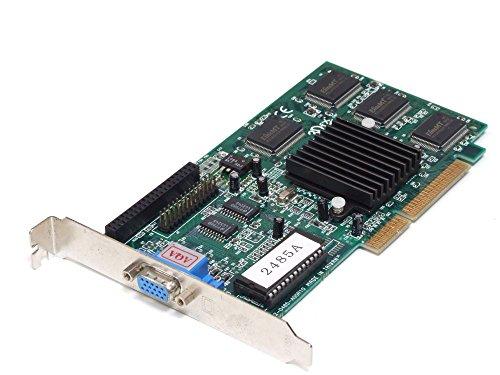 3Dfx Voodoo Banshee 2485A 16 MB AGP 3.3V Graphics Card/Grafikkarte 00325199848A (Generalüberholt)