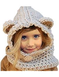 Amazon.it  cappelli di lana - Bambine e ragazze  Abbigliamento 5883893dfa56