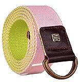 OTLS Men & Women Multicolor Combo Belt B...