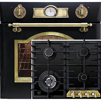 einbau gas herd set komplett gas gasbackofen mit. Black Bedroom Furniture Sets. Home Design Ideas