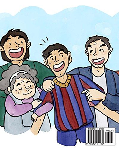 ccd2d7d227f Libro Messi  The Children s Illustration Book. Fun