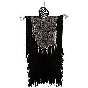 Amscan-241779casa encantada negro colgantes grandes Segadores