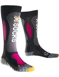 X-Socks Ski Carving Silver Women, Chaussettes mixte adulte