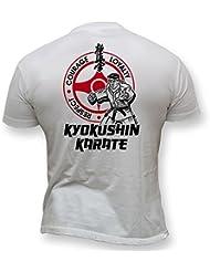 Dirty Ray Arts Martiaux MMA Kyokushin Karate t-shirt homme K48