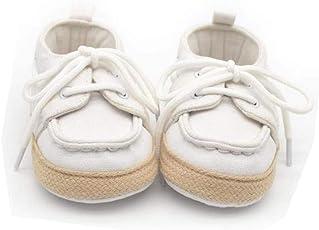 Saingace Baby Toddler Boys Girls Sport Casual Lace-up Anti-Slip Sneaker Soft Sole Prewalker Shoes