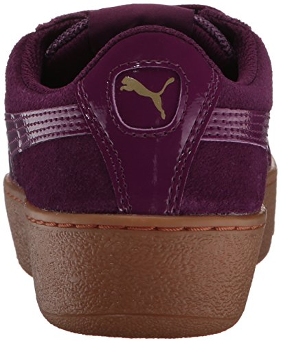 Puma Vikky Platform, Sneaker Alla Moda Donna Dark Purple-dark Purple