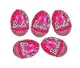 Barbie Chocolate Sorpresa Huevos con juguetes interior Edición Especial, Choco Treasure Ltd Paquete de 5]